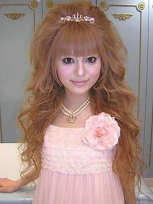 Hime-Gyaru-Haircut
